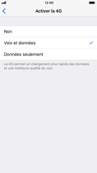 Apple iPhone 8 - iOS 12 - Réseau - Activer 4G/LTE - Étape 7