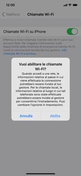 Apple iPhone 11 Pro - WiFi - Attivare WiFi Calling - Fase 7
