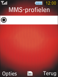 Samsung S5550 Chester - MMS - handmatig instellen - Stap 11
