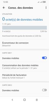 Alcatel 1S (2020) - Internet et connexion - Désactiver la connexion Internet - Étape 6