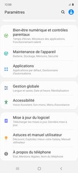 Samsung Galaxy A51 5G - Aller plus loin - Mettre à jour le logiciel interne de votre mobile - Étape 5