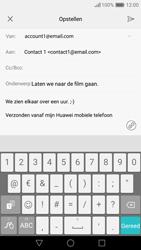 Huawei Nova - E-mail - e-mail versturen - Stap 9