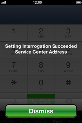 Apple iPhone 4 S iOS 6 - SMS - Manual configuration - Step 5