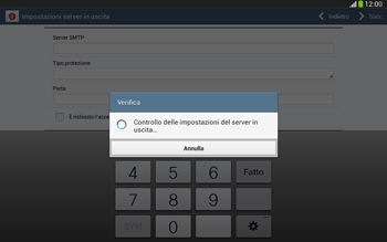 Samsung Galaxy Tab 3 10-1 LTE - E-mail - configurazione manuale - Fase 15