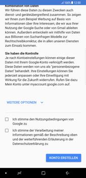 Samsung Galaxy S8 Plus - Apps - Konto anlegen und einrichten - 15 / 21