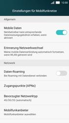 Huawei Y5 - Netzwerk - Netzwerkeinstellungen ändern - Schritt 5