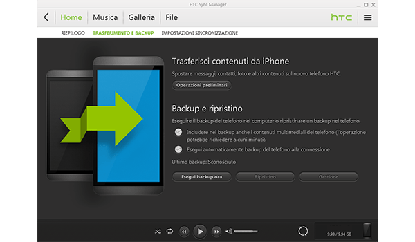 HTC One M8 - Software - Come eseguire un backup del dispositivo - Fase 4