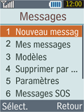 Samsung B2100 Xplorer - E-mail - Envoi d