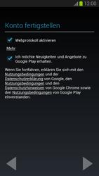 Samsung I9300 Galaxy S3 - Apps - Konto anlegen und einrichten - Schritt 13