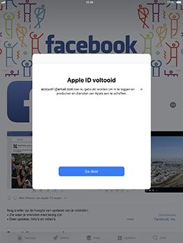 Apple iPad Pro 10.5 inch - iOS 11 - Applicaties - Account aanmaken - Stap 19