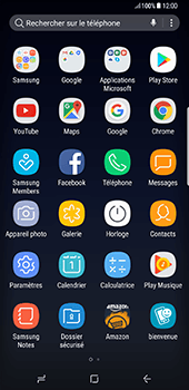 Samsung Galaxy S8+ - Applications - Créer un compte - Étape 3