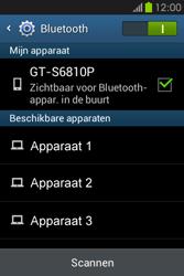 Samsung S6810P Galaxy Fame - bluetooth - aanzetten - stap 7