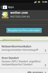 Sony Xperia Go - Apps - Herunterladen - Schritt 14