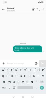OnePlus 7 Pro - Contact, Appels, SMS/MMS - Envoyer un SMS - Étape 9