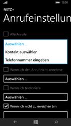 Microsoft Lumia 535 - Anrufe - Rufumleitungen setzen und löschen - 7 / 11