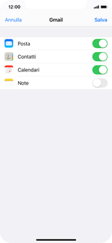 Apple iPhone X - iOS 13 - E-mail - 032a. Email wizard - Gmail - Fase 9