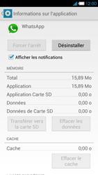 Bouygues Telecom Ultym 4 - Applications - Supprimer une application - Étape 6
