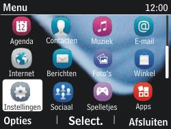 Nokia Asha 201 - netwerk en bereik - gebruik in binnen- en buitenland - stap 3