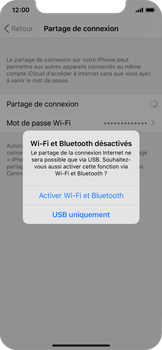 Apple iPhone X - iOS 13 - WiFi - Comment activer un point d'accès WiFi - Étape 7