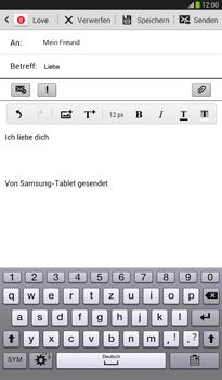 Samsung T211 Galaxy Tab 3 7-0 - E-Mail - E-Mail versenden - Schritt 10