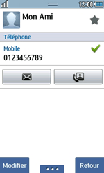 Samsung Wave 723 - Contact, Appels, SMS/MMS - Ajouter un contact - Étape 11