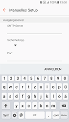 Samsung J510 Galaxy J5 (2016) DualSim - E-Mail - Konto einrichten - Schritt 12