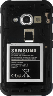 Samsung G388F Galaxy Xcover 3 - SIM-Karte - Einlegen - Schritt 6