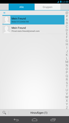 Huawei Ascend Mate - MMS - Erstellen und senden - 1 / 1