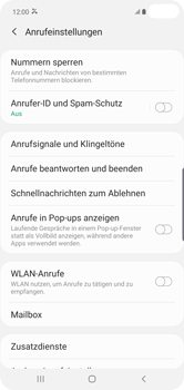 Samsung Galaxy S10 Plus - Anrufe - Anrufe blockieren - 8 / 13
