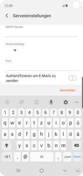 Samsung Galaxy S10e - E-Mail - Konto einrichten - Schritt 15