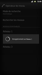 Sony Xperia S - Réseau - Sélection manuelle du réseau - Étape 10