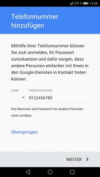 Huawei Mate 9 - Apps - Einrichten des App Stores - Schritt 13