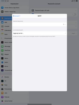 Apple iPad Pro 12.9 (2018) - ipados 13 - E-mail - configurazione manuale - Fase 20