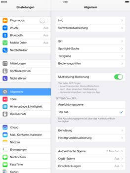 Apple iPad mini retina - E-Mail - Manuelle Konfiguration - Schritt 7