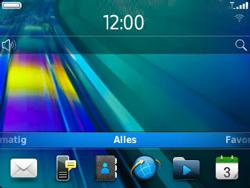 BlackBerry 9320 Curve - BlackBerry activeren - BlackBerry ID activeren - Stap 1