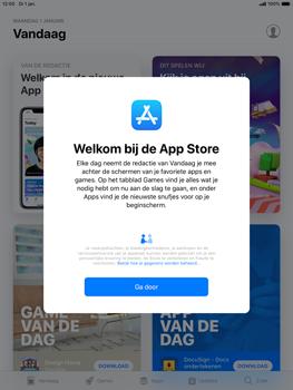 Apple ipad-mini-5-7-9-inch-2019-model-a2124 - Applicaties - Account aanmaken - Stap 26