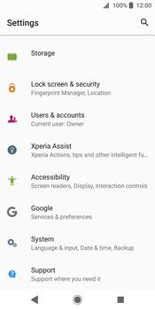 Sony Xperia XZ2 - Device - Factory reset - Step 5
