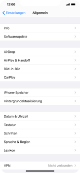 Apple iPhone 11 Pro Max - iOS 14 - Startanleitung - So fügen Sie eine Tastatursprache hinzu - Schritt 4