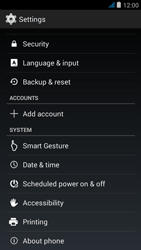 Wiko jimmy - Mobile phone - Resetting to factory settings - Step 4