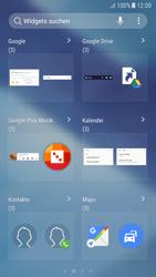 Samsung Galaxy A5 (2017) - Android Nougat - Startanleitung - Installieren von Widgets und Apps auf der Startseite - Schritt 5