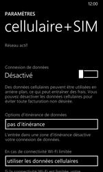 Nokia Lumia 635 - Internet et connexion - Désactiver la connexion Internet - Étape 6