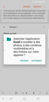 Samsung Galaxy S9 - E-mail - Envoi d