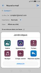 Huawei P10 - E-mails - Envoyer un e-mail - Étape 12
