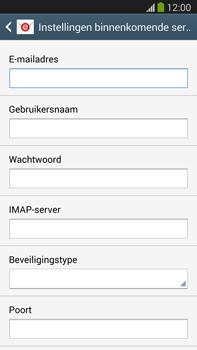 Samsung N9005 Galaxy Note III LTE - E-mail - Account instellen (IMAP zonder SMTP-verificatie) - Stap 8