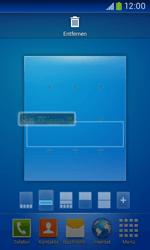 Samsung Galaxy Ace III - Startanleitung - Installieren von Widgets und Apps auf der Startseite - Schritt 7