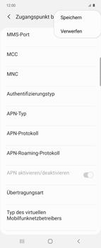 Samsung Galaxy Z flip - Internet und Datenroaming - Manuelle Konfiguration - Schritt 17