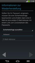 LG G Flex - Apps - Konto anlegen und einrichten - 13 / 26
