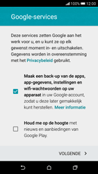 HTC Desire 626 - apps - account instellen - stap 16
