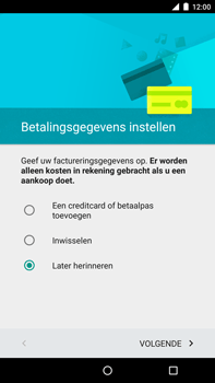 Motorola Nexus 6 - apps - account instellen - stap 16