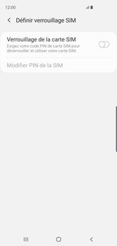 Samsung Galaxy S10 - Prise en main - Comment activer un code SIM - Étape 7